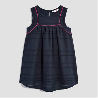 Joe Fresh Baby Girls' Piped Sleeveless Dress