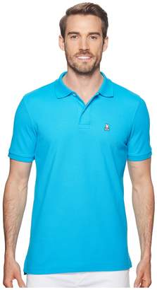 Psycho Bunny Classic Polo Fashion Colors Men's Short Sleeve Pullover