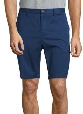 Slim-Fit Cotton-Blend Shorts $125 thestylecure.com