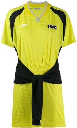 Alexander Wang tie front sports dress