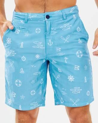 The Rocks Push Blueys Marine Icons Shorts