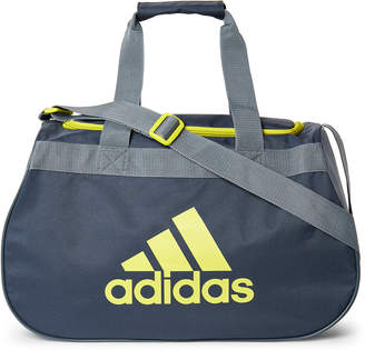 adidas Grey & Lime Diablo Small Duffel Bag