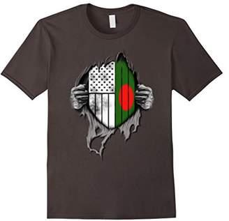 Bangladeshi American Flag - USA Bangladesh Flag T-shirt