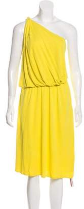 Lanvin One Shoulder Mini Dress
