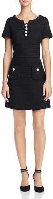 Moschino Tweed A-Line Dress