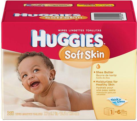 Kimberly Clark Corp. Huggies 368Ct Soft Skin Shea Butter Wipes