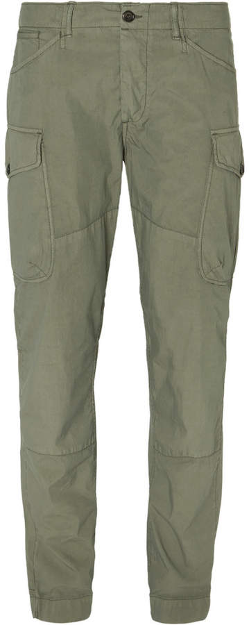 President's Mission Slim-Fit Cotton-Blend Cargo Trousers