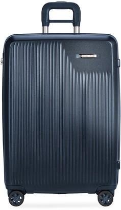Briggs & Riley Sympatico medium expandable spinner suitcase Matte Navy