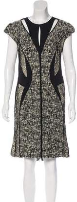 J. Mendel Structured Midi Dress
