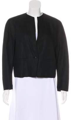 Max Mara Linen Open Jacket