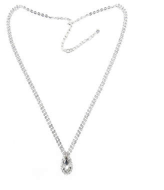 clear VIESTE ROSA Vieste Rosa Womens Brass Pendant Necklace
