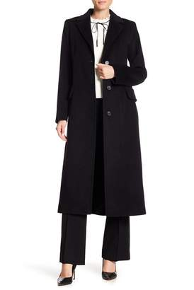 Fleurette Long Wool Coat