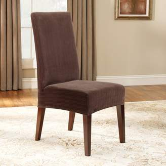 Sure Fit Pin-Striped Dining Chair Slipcover