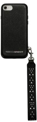 Rebecca Minkoff iPhone 7/8 & 7/8 Plus Leather Wristlet Case
