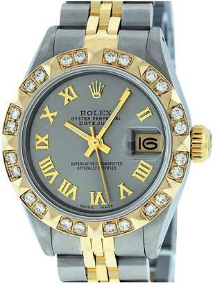 Rolex Vintage Lady DateJust 26mm Grey Steel Watches