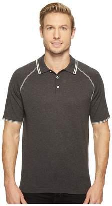Agave Denim Watson 100% Supima Short Sleeve Polo w/ Tipping Men's Clothing
