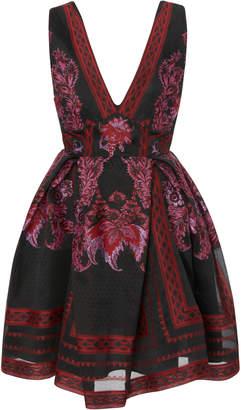 Murad Zuhair Printed Crepe Mini Dress