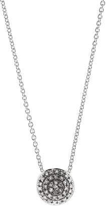 Monica Vinader Fiji Button Diamond Necklace