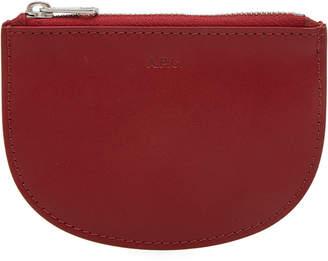 A.P.C. Leather Zip Wallet