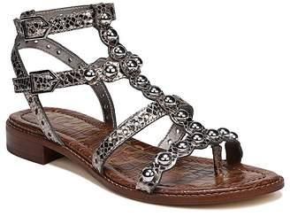 Sam Edelman Women's Elisa Leather Gladiator Sandals
