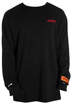 Heron Preston Men's Long Sleeve Logo T-Shirt