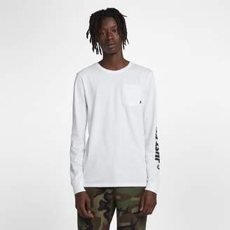 Nike SB Men's Long-Sleeve Skateboarding T-Shirt