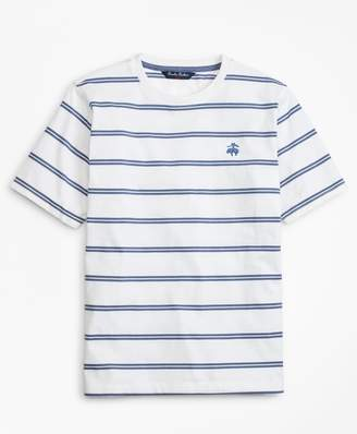Brooks Brothers Cotton Short-Sleeve Stripe T-Shirt