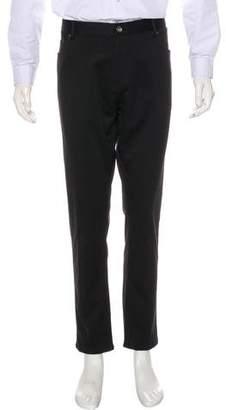 Calvin Klein Flat Front Slim-Fit Pants