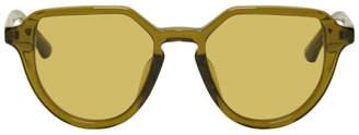 Dries Van Noten Green Linda Farrow Edition 184 C3 Sunglasses