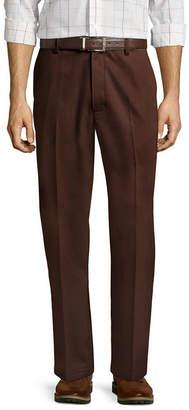 ST. JOHN'S BAY Easy-Care Classic Flat-Front Pants