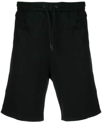 HUGO BOSS logo embroidered shorts