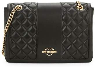 Love Moschino Borsa Quilted Shoulder Bag