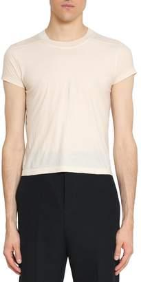 Rick Owens Level Cropped Cotton T-shirt