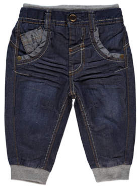 Cuffed Denim Jeans