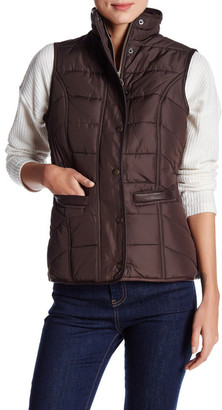 Barbour Front Button Quilted Vest $329 thestylecure.com
