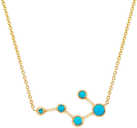 Logan Hollowell - New! Big Dipper Turquoise Constellation Necklace