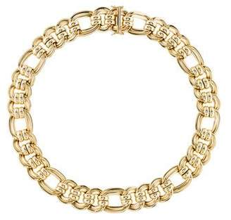 14K Link Collar Necklace