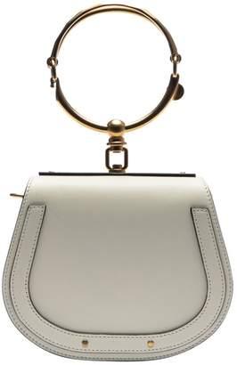Chloé White Leather Handbags