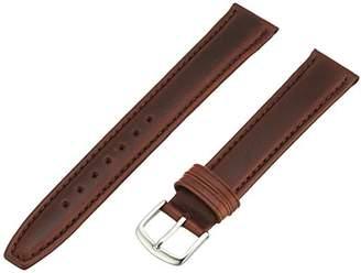 Hadley-Roma Men's MSM881LB-180 18-mm Oil-Tan Leather Watch Strap