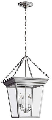 Visual Comfort & Co. Cornice Small Lantern - Polished Nickel