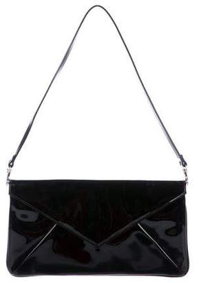 LK Bennett Leola Patent Leather Envelope Clutch