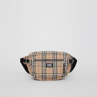 Burberry Large Vintage Check Cotton Cannon Bum Bag