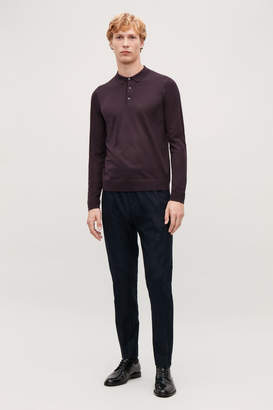 Cos MERINO POLO-NECK JUMPER