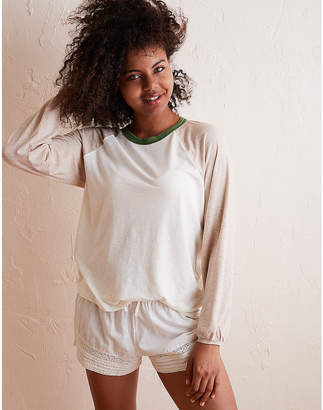 aerie Real Soft Baseball Tee