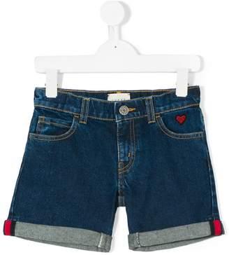Gucci Kids turn up hems shorts