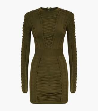 Balmain Lace Bodycon Dress