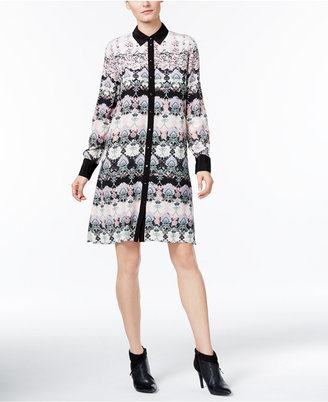 YYIGAL Printed Shirtdress, a Macy's Exclusive Style $129 thestylecure.com