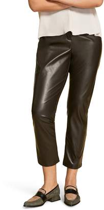Marina Rinaldi Faux Stretch Leather Pants