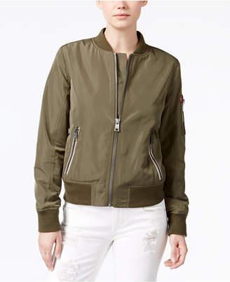 Levi's Zip-Detail Bomber Jacket