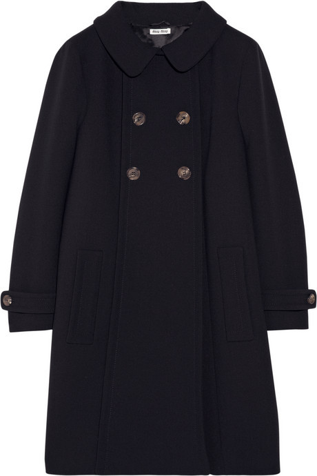 Miu Miu Wool-crepe coat